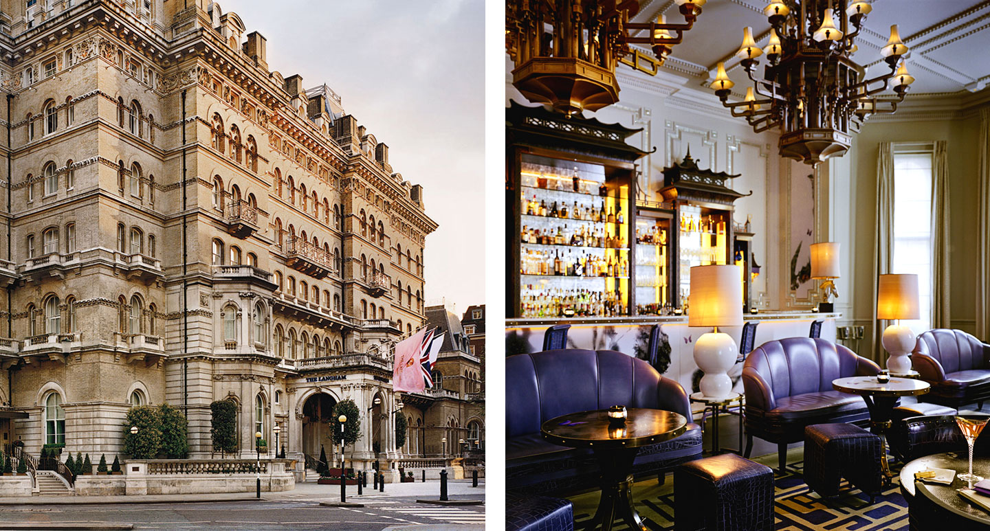 London boutique hotel - The Langham, London