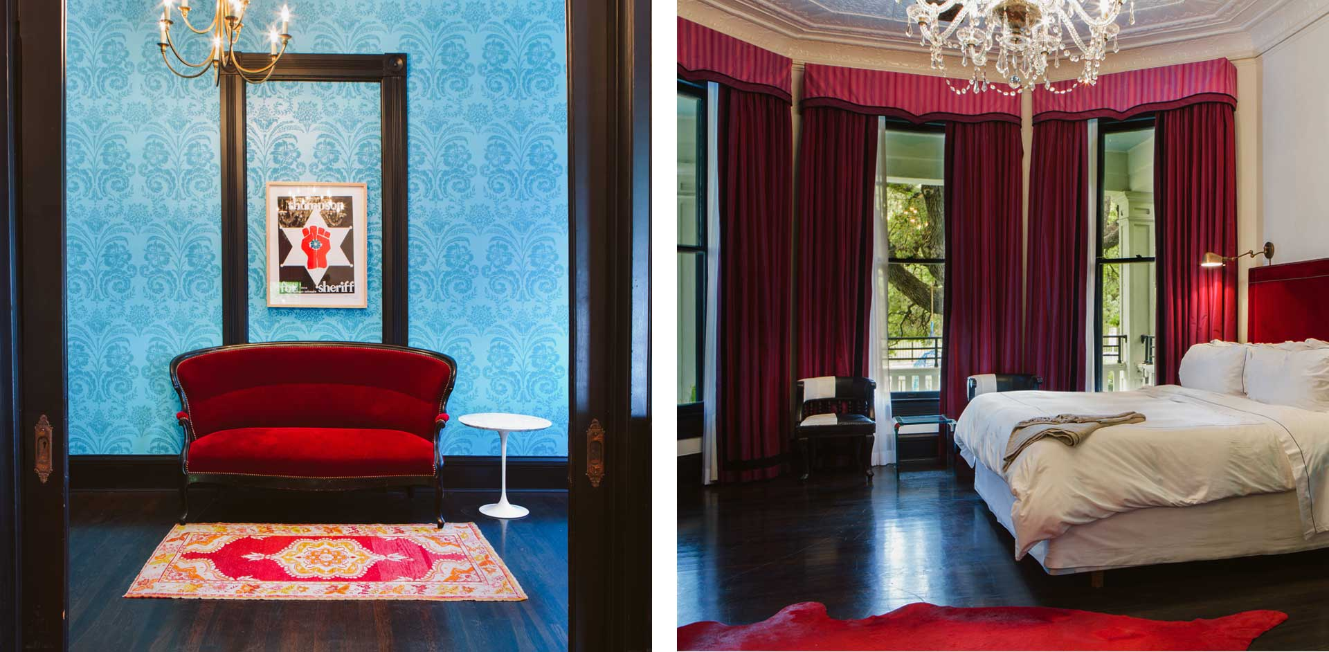 Hotel Saint Cecilia - boutique hotel in Austin