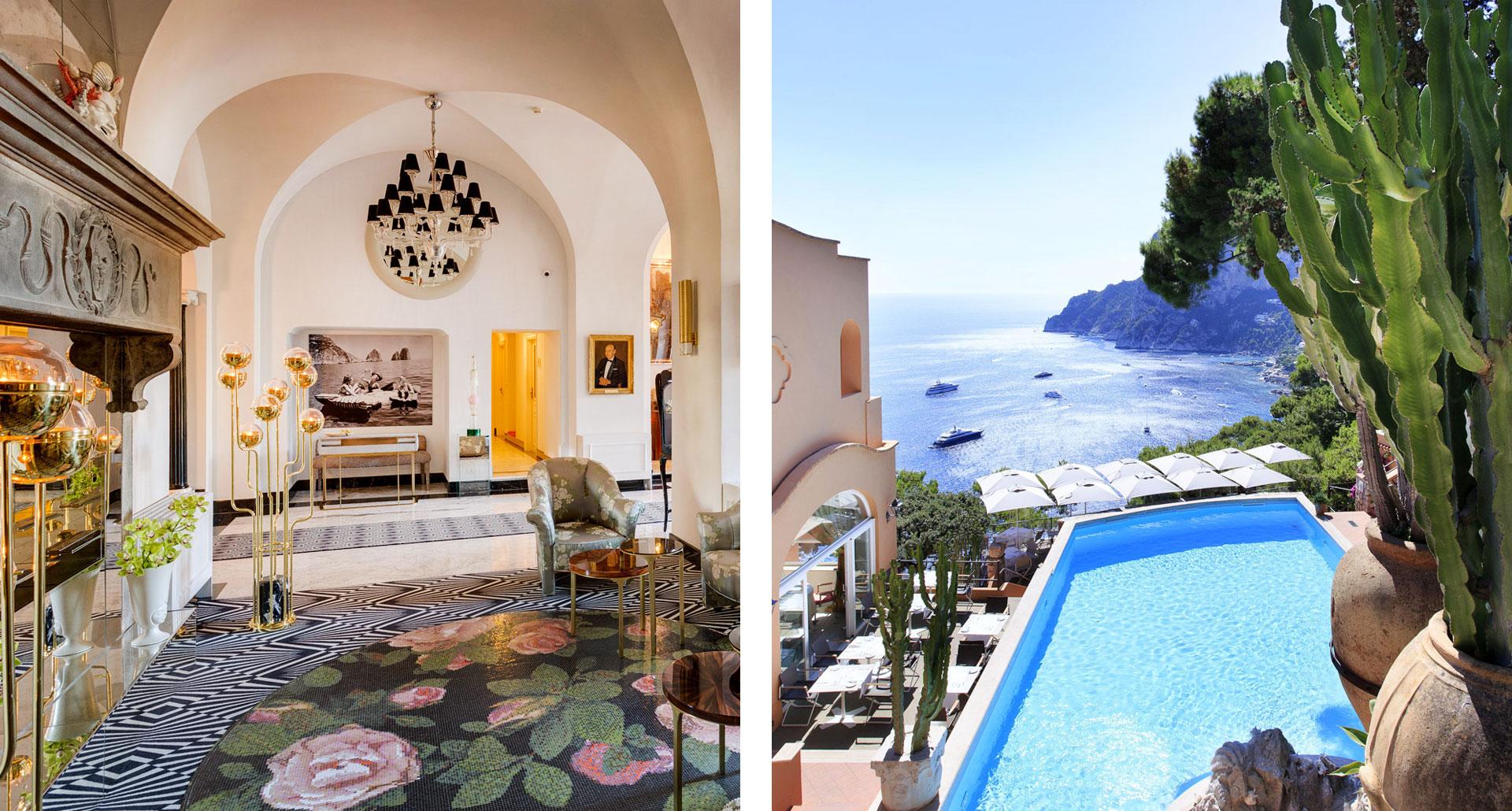 Hotel Punta Tragara - boutique hotel in Capri