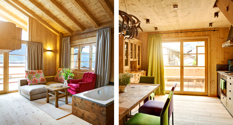 Hochleger - Chalets & Apartments - boutique hotel in Aschau im Zillertal