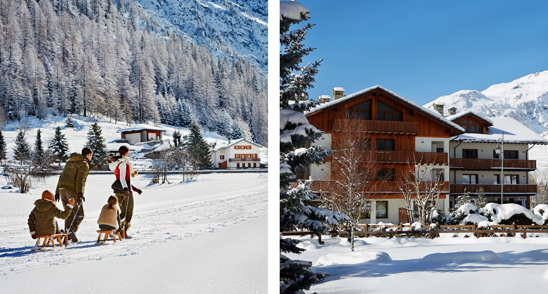 Montana Lodge & Spa - boutique hotel in La Thuile