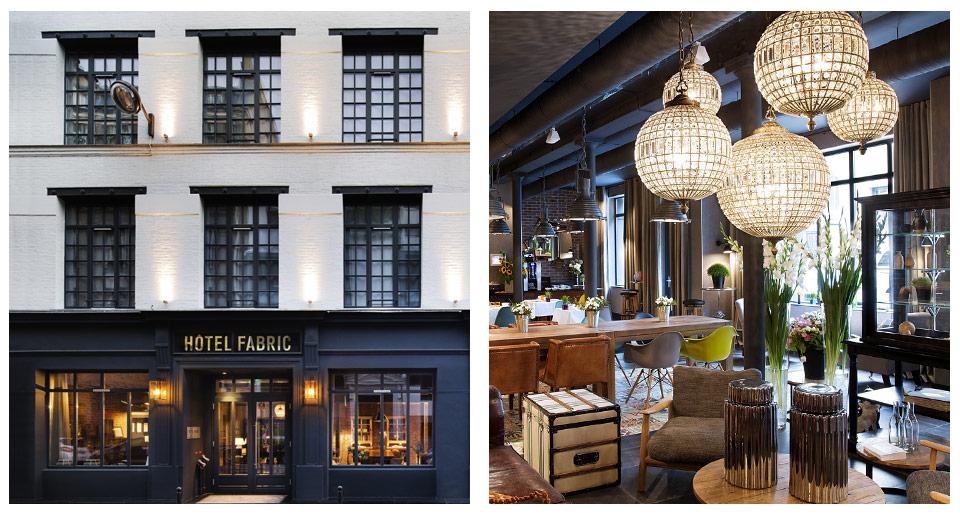 Hôtel Fabric Parigi