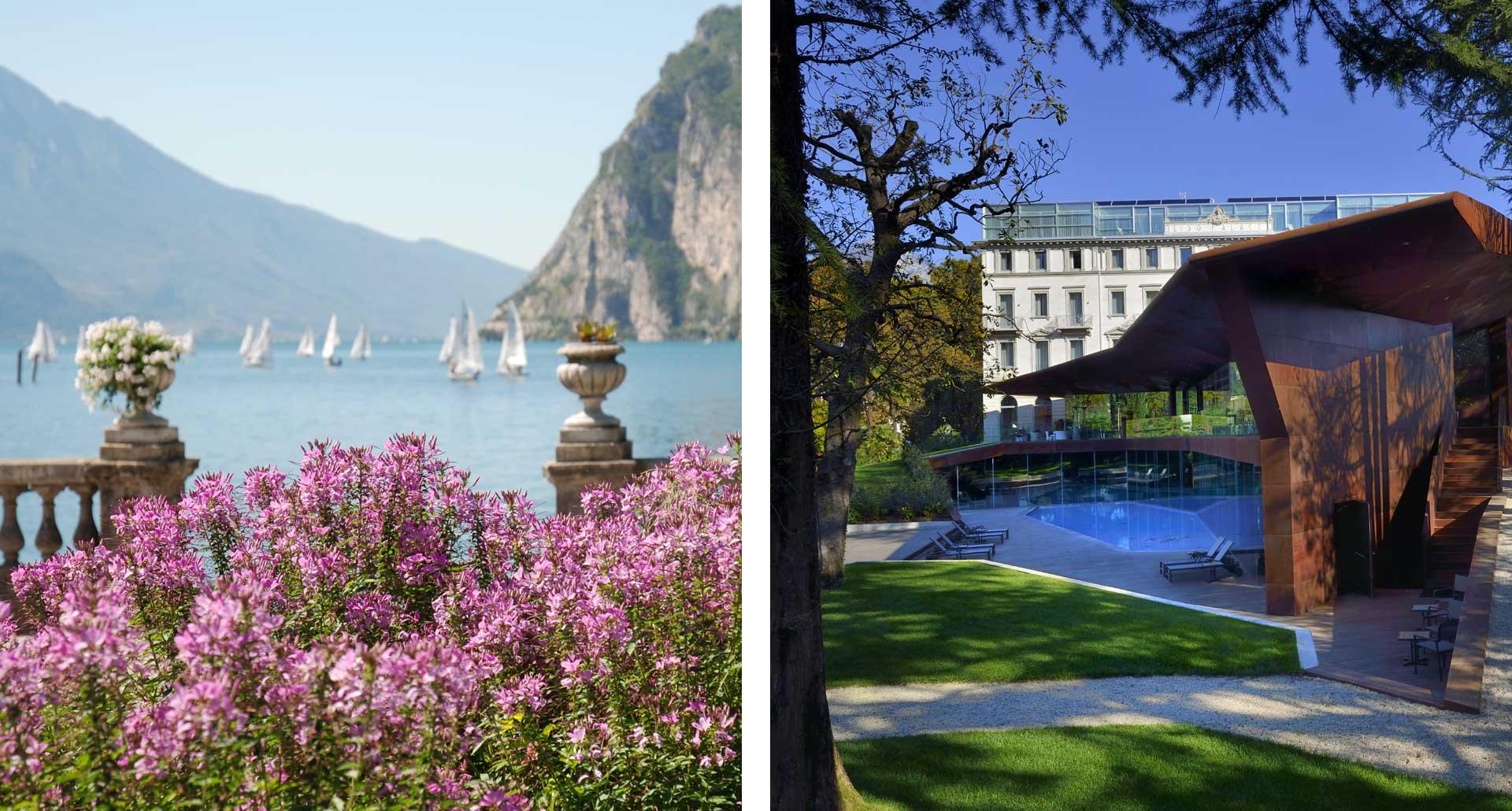 Lido Palace - 5 Stelle boutique hotel Riva del Garda, Italia