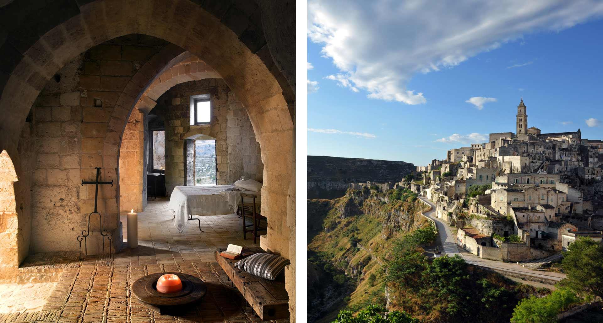 Sextantio Le Grotte della Civiltà - 5 Stelle boutique hotel Matera, Italia
