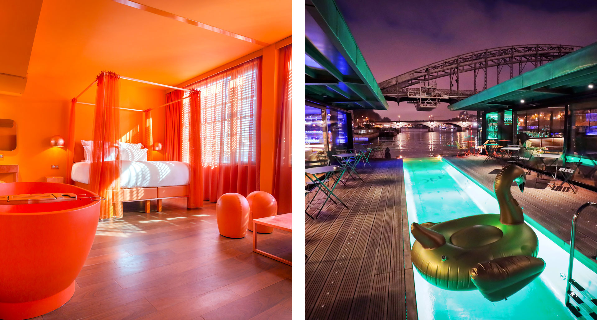 Off Paris Seine - cool boutique hotel in Paris
