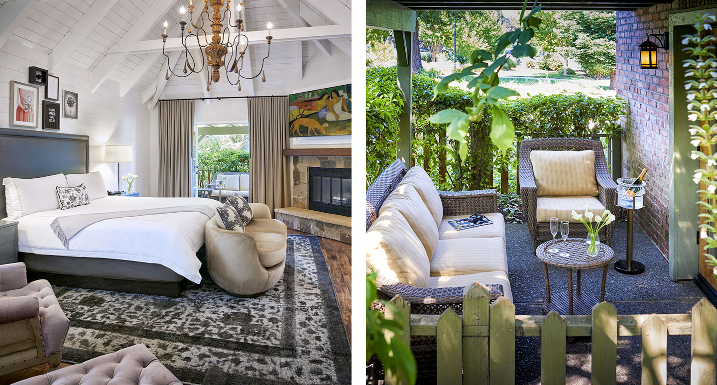Vintage House - boutique hotel in Napa Valley