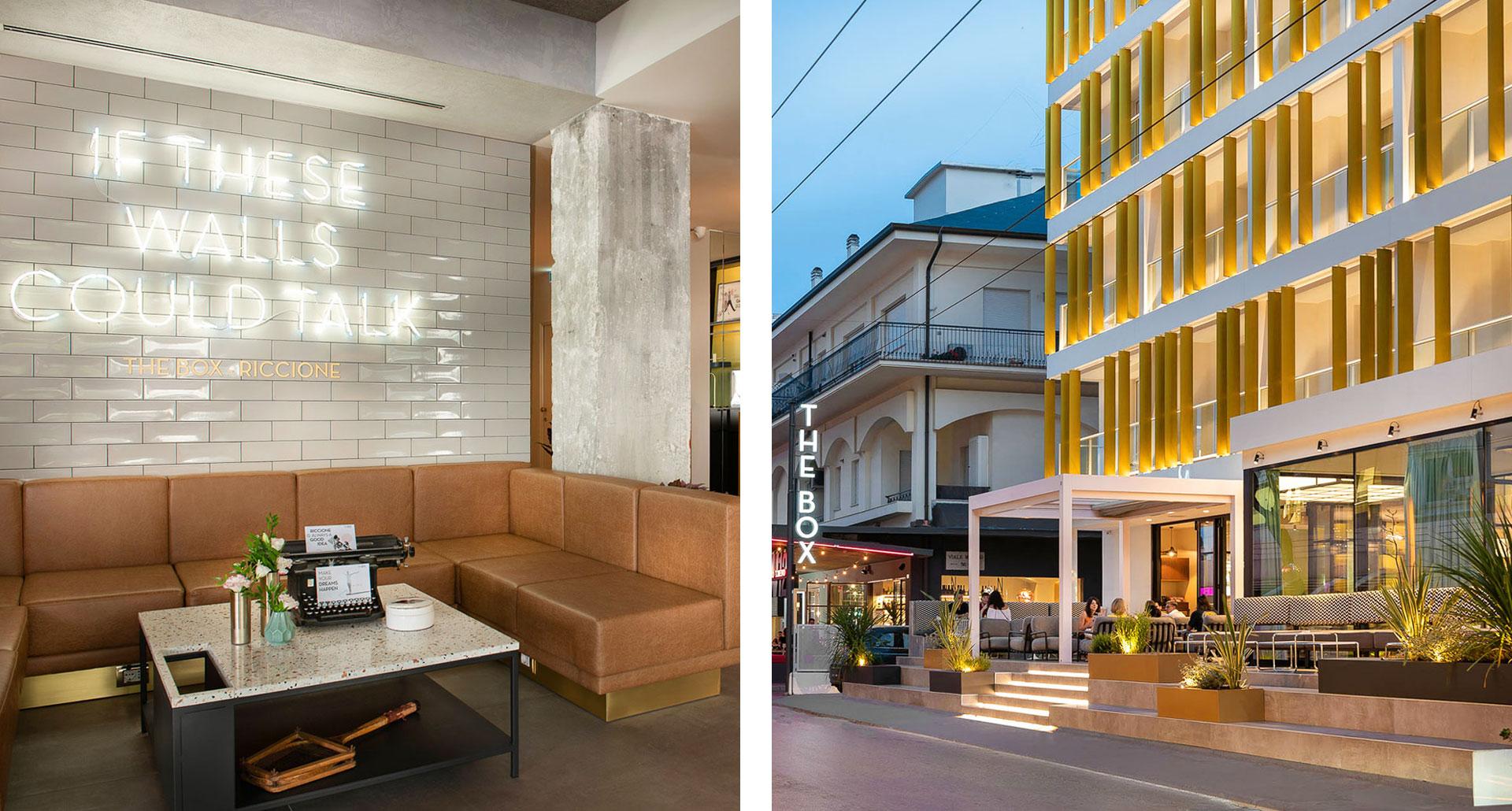 The Box Hotel - boutique hotel in Rimini
