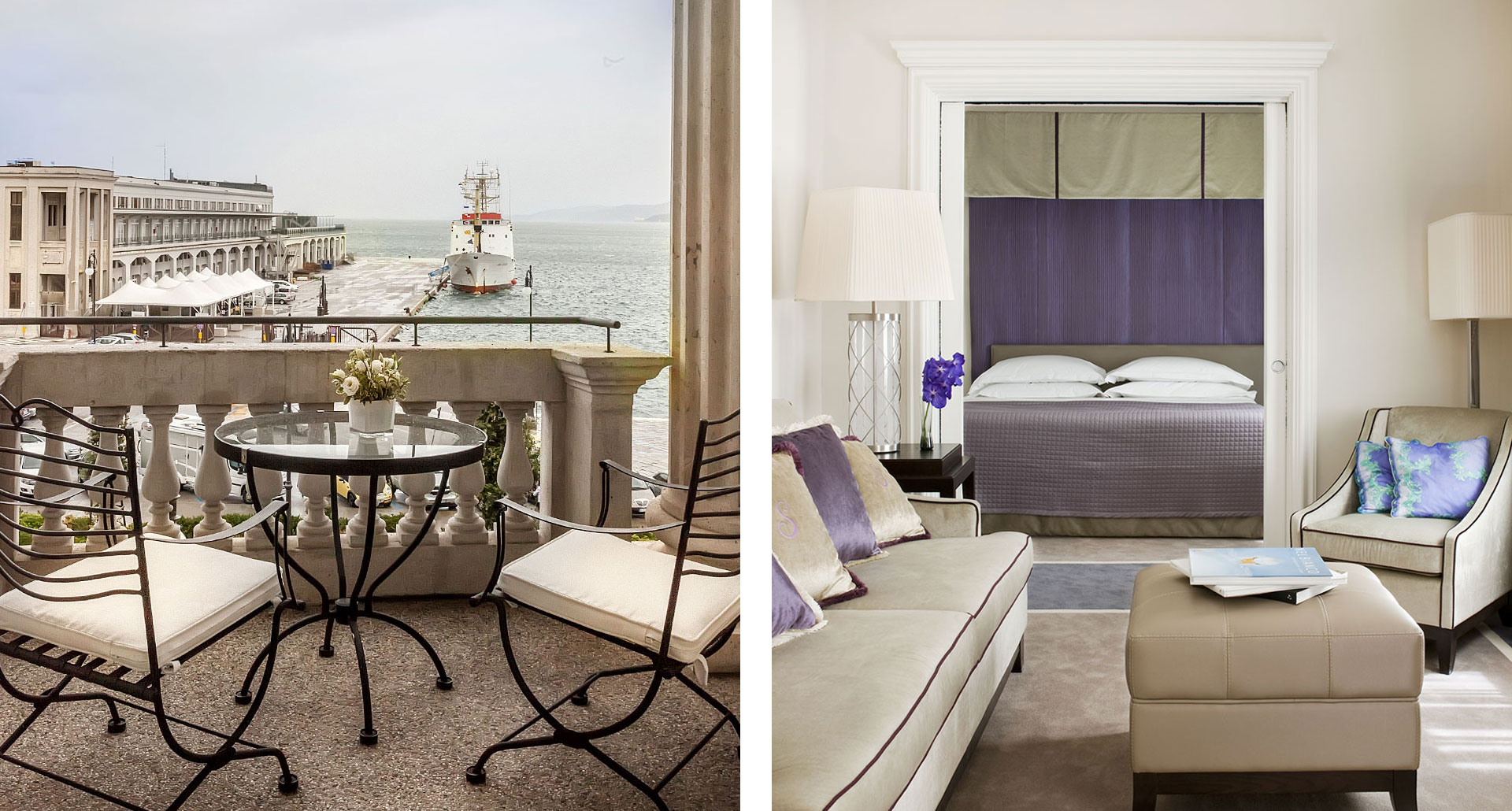 Savoia Excelsior Palace Trieste - boutique hotel in Trieste