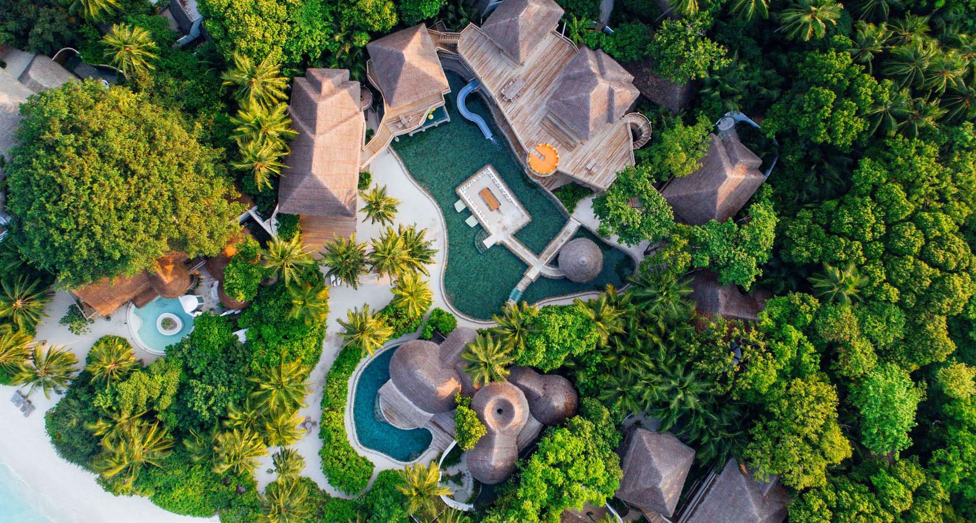 Soneva Fushi boutique hotel in the Maldives