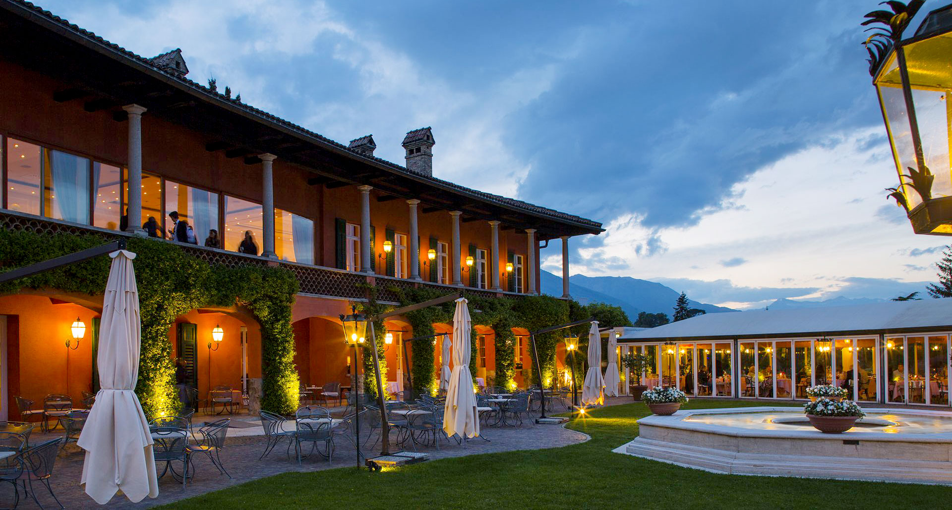 Villa Principe Leopoldo- boutique hotel in Switzerland