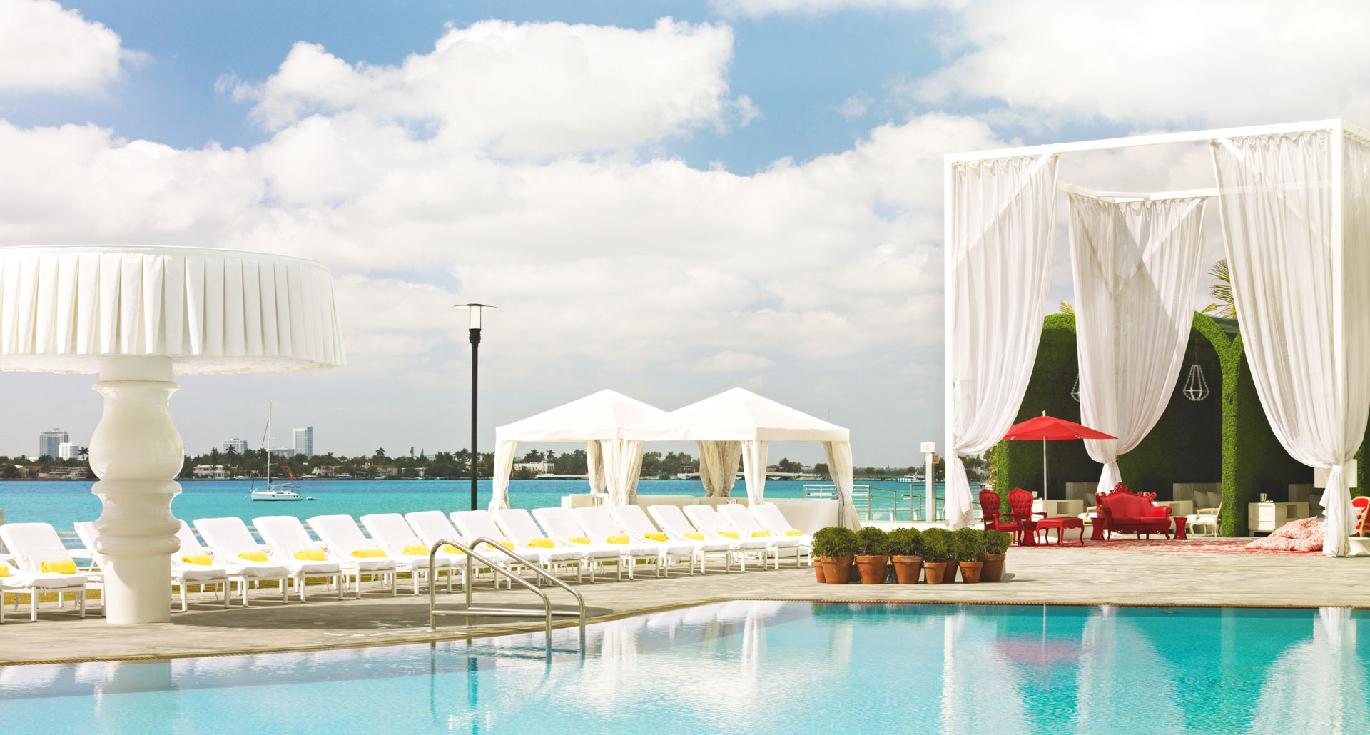 Mondrian South Beach - boutique hotel in Miami