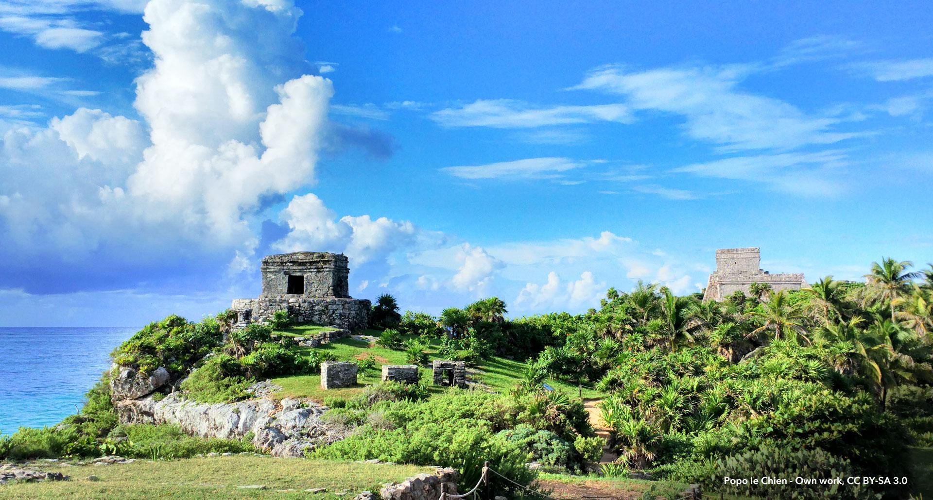 11th-century Mayan ruins