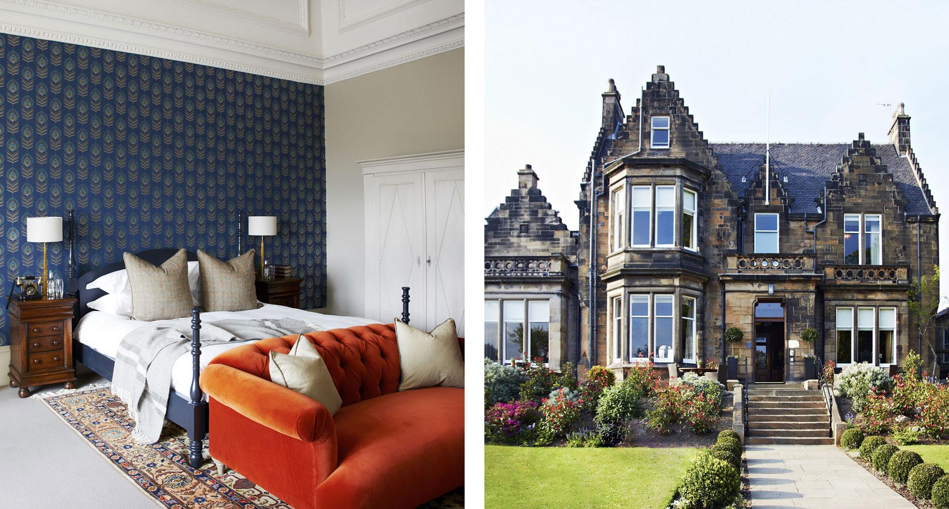 The Dunstane Houses - boutique hotel in Edinburgh