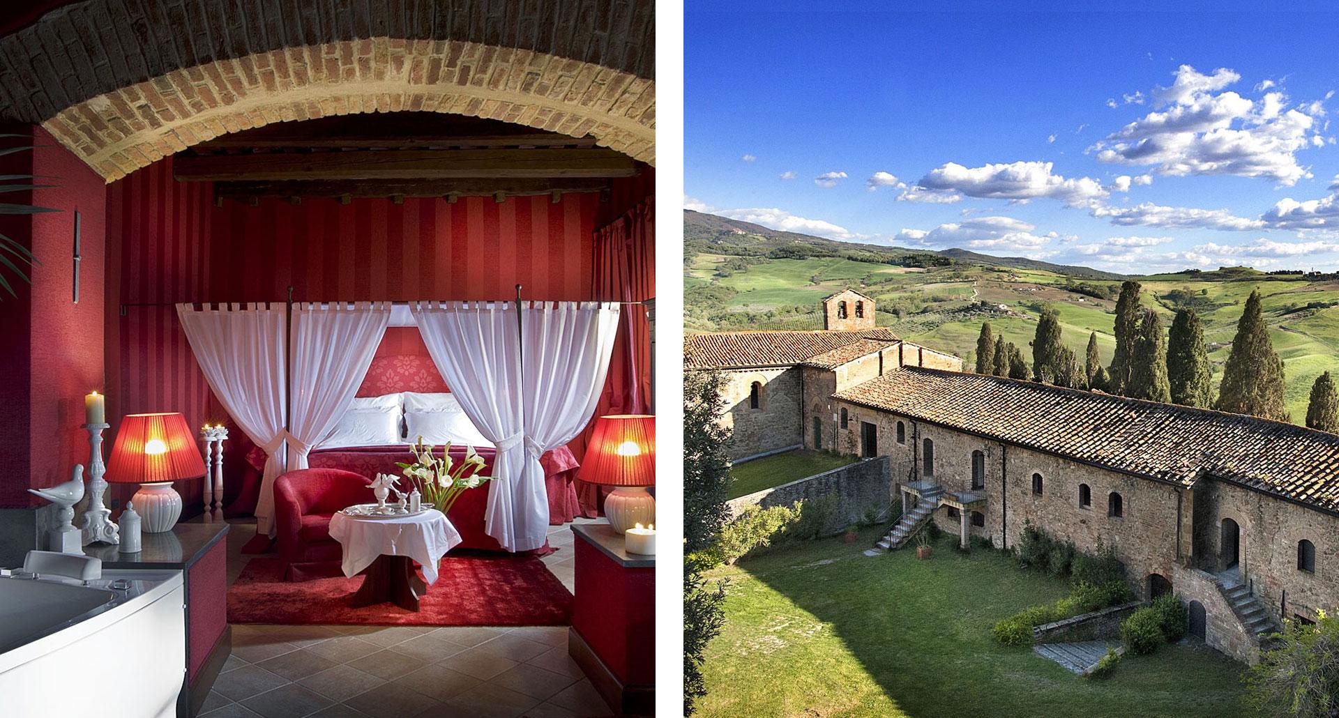 Castel Porrona Relais & Spa - boutique hotel in Cinigiano