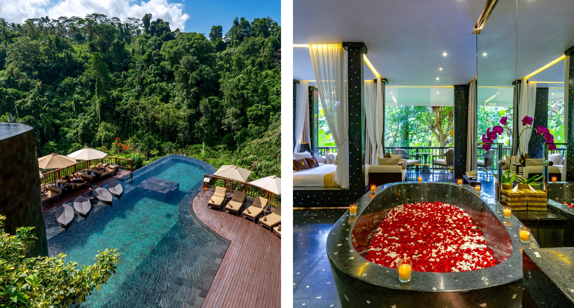 Hanging Gardens of Bali - boutique hotel in Bali