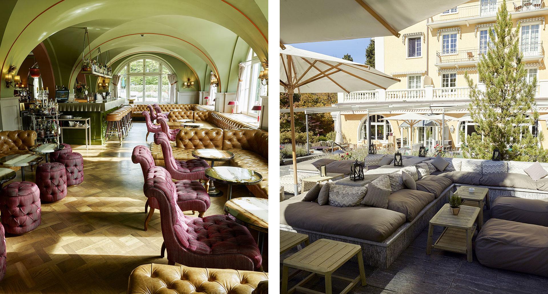 Le Grand Bellevue - boutique hotel in Switzerland