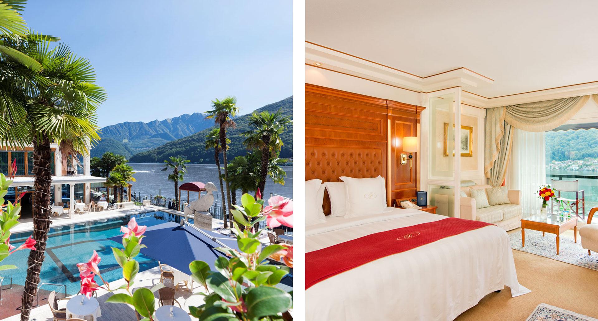 Swiss Diamond Hotel Lugano - boutique hotel in Switzerland