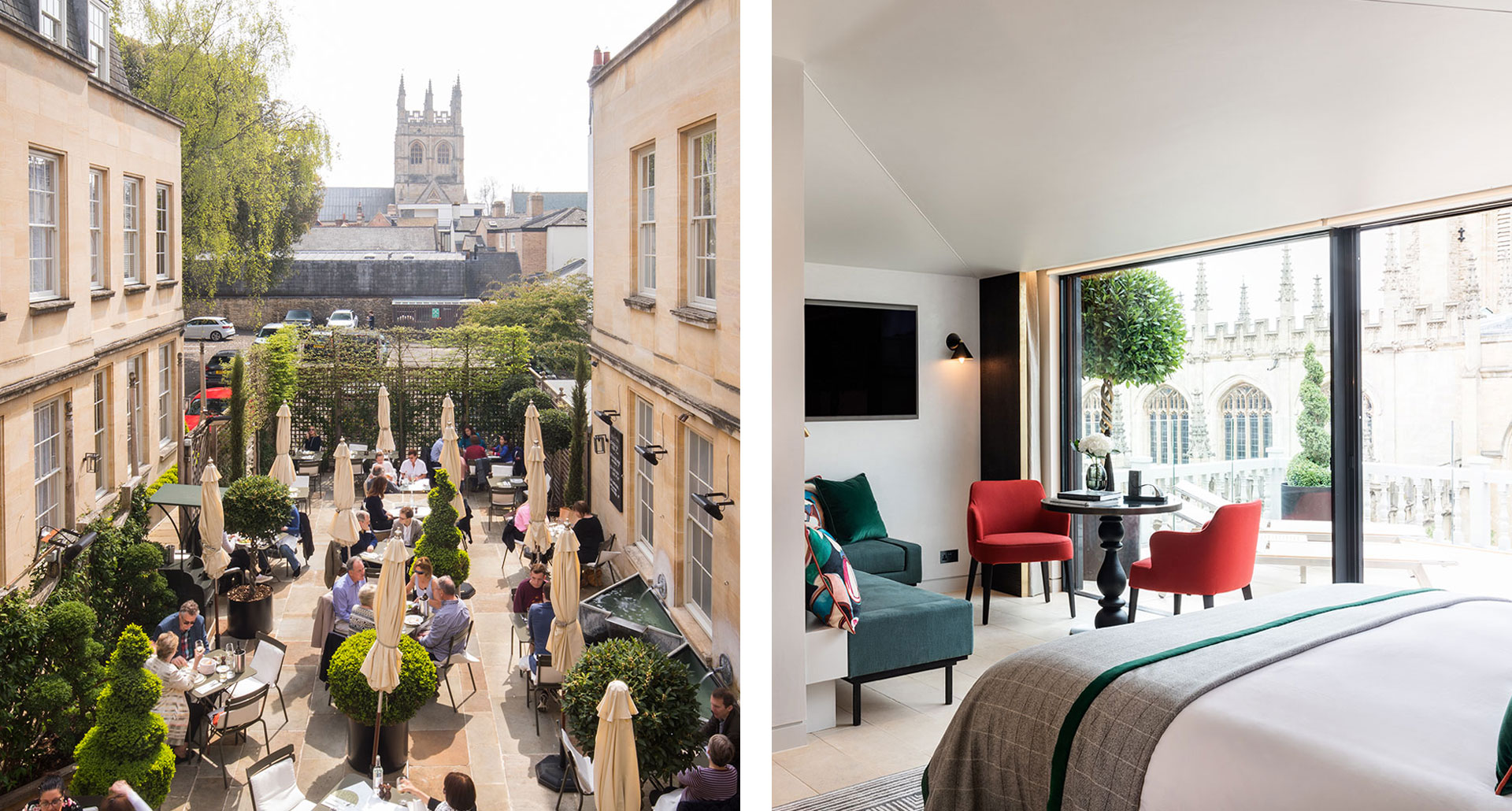Old Bank Hotel - boutique hotel in Oxford