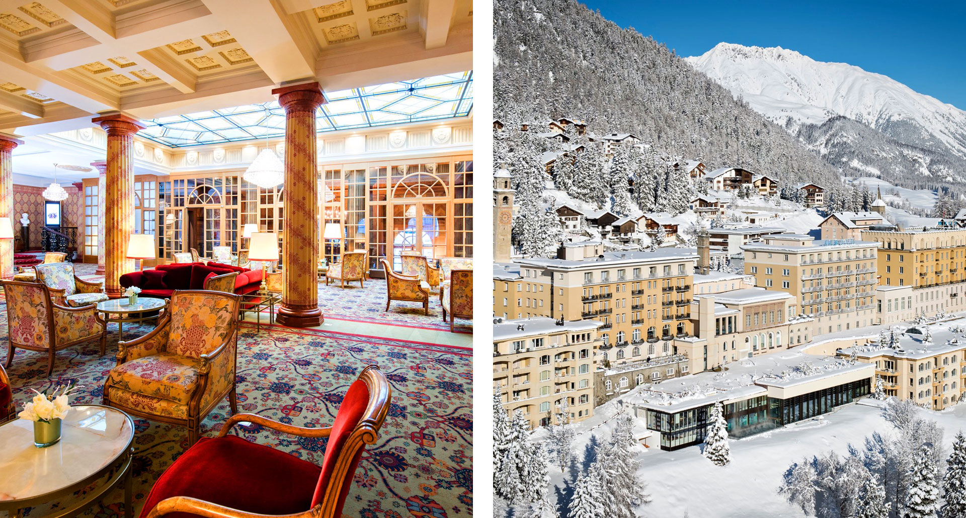 Kulm Hotel St Moritz - boutique hotel in Switzerland