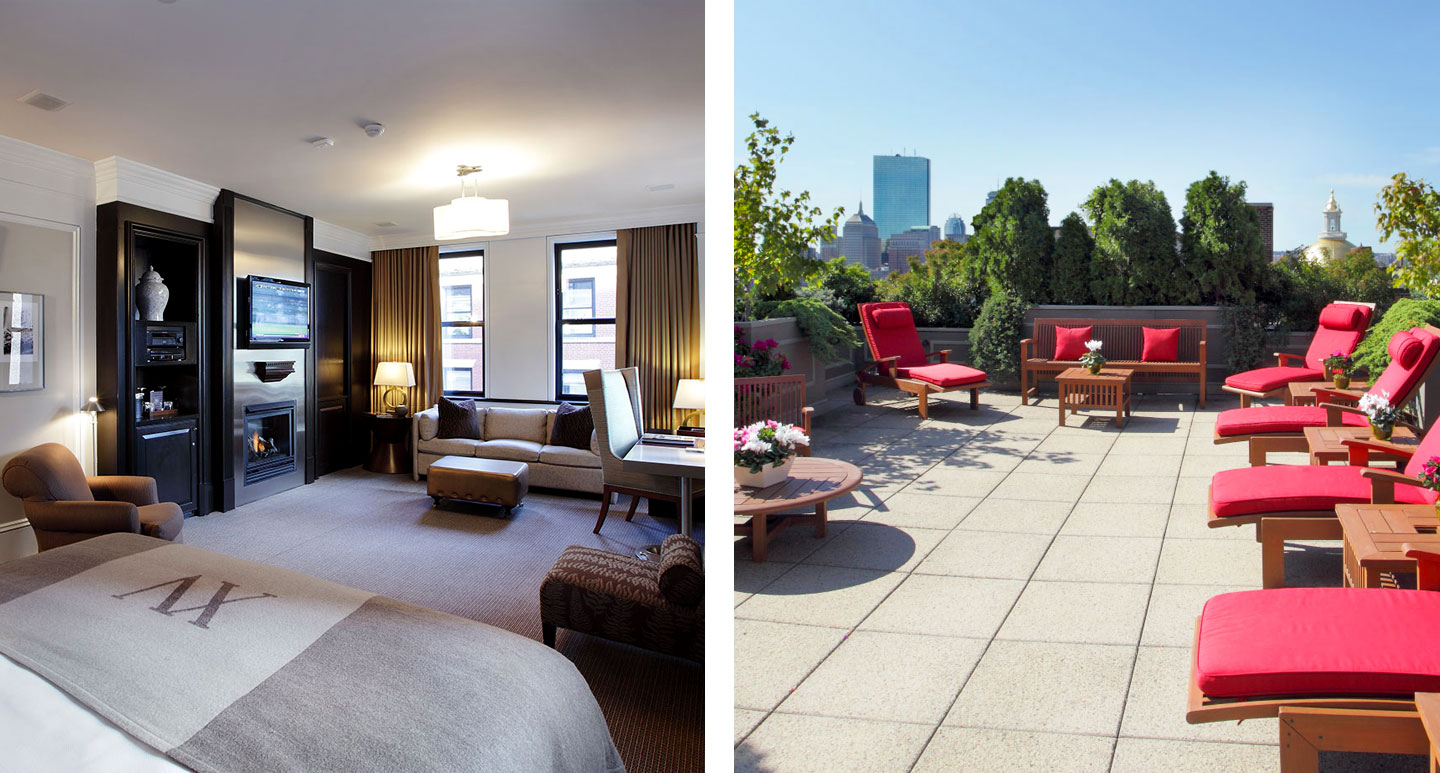 XV Beacon - boutique hotel in Boston