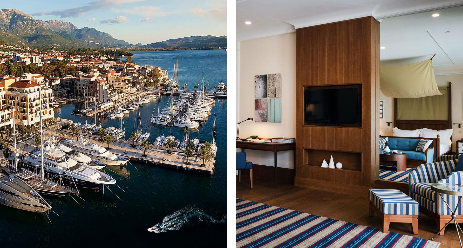 Regent Porto Montenegro - boutique hotel in Tivat