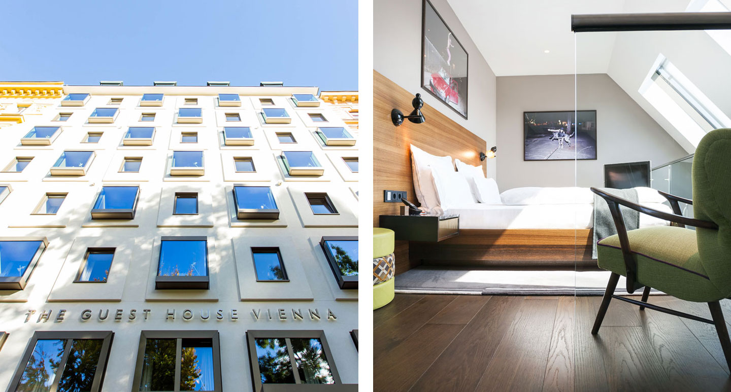 The Guesthouse Vienna - boutique hotel in Vienna