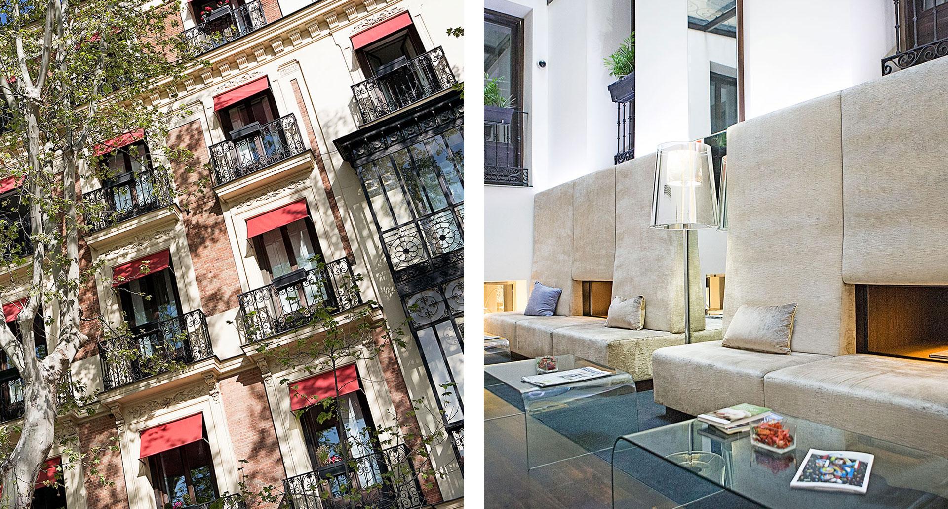 Hospes Puerta de Alcala - boutique hotel in Madrid