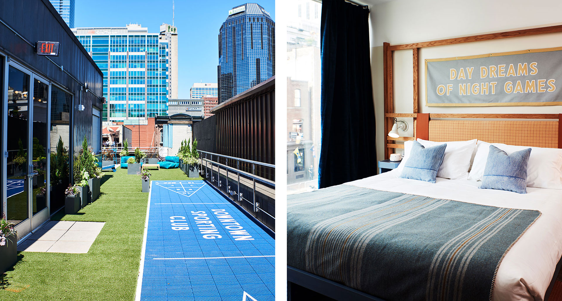 Downtown Sporting Club - boutique hotel in Nashville