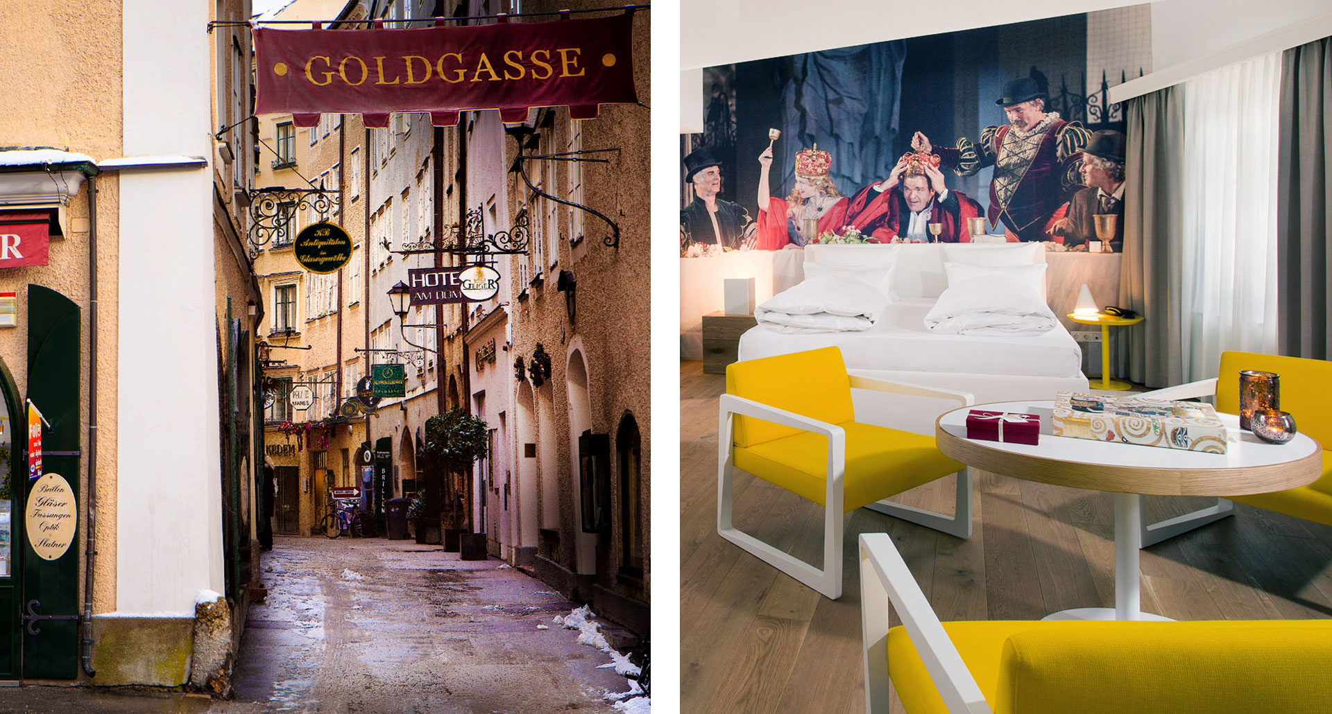 Small Luxury Hotel Goldgasse - boutique hotel in Salzburg
