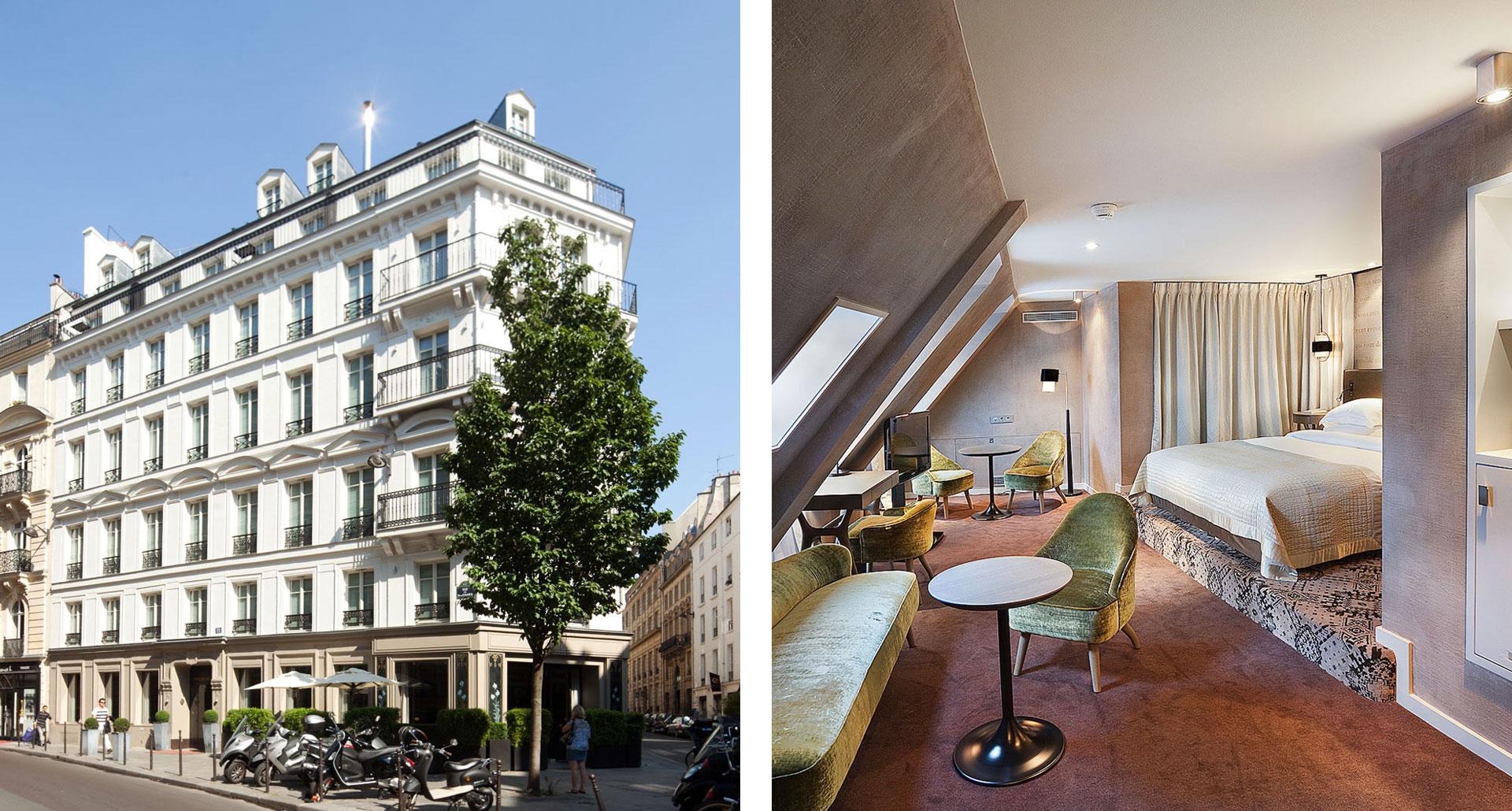Le Pavillon des Lettres - boutique hotel in Paris