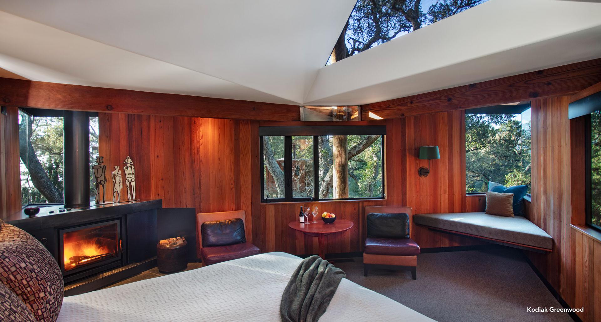 interior treehouse
