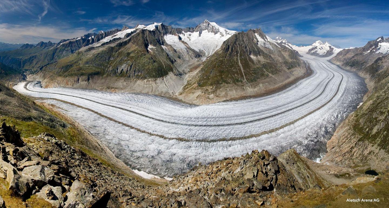 Grindelwald, le Col de Jungfraujoch & le Glacier d'Aletsch