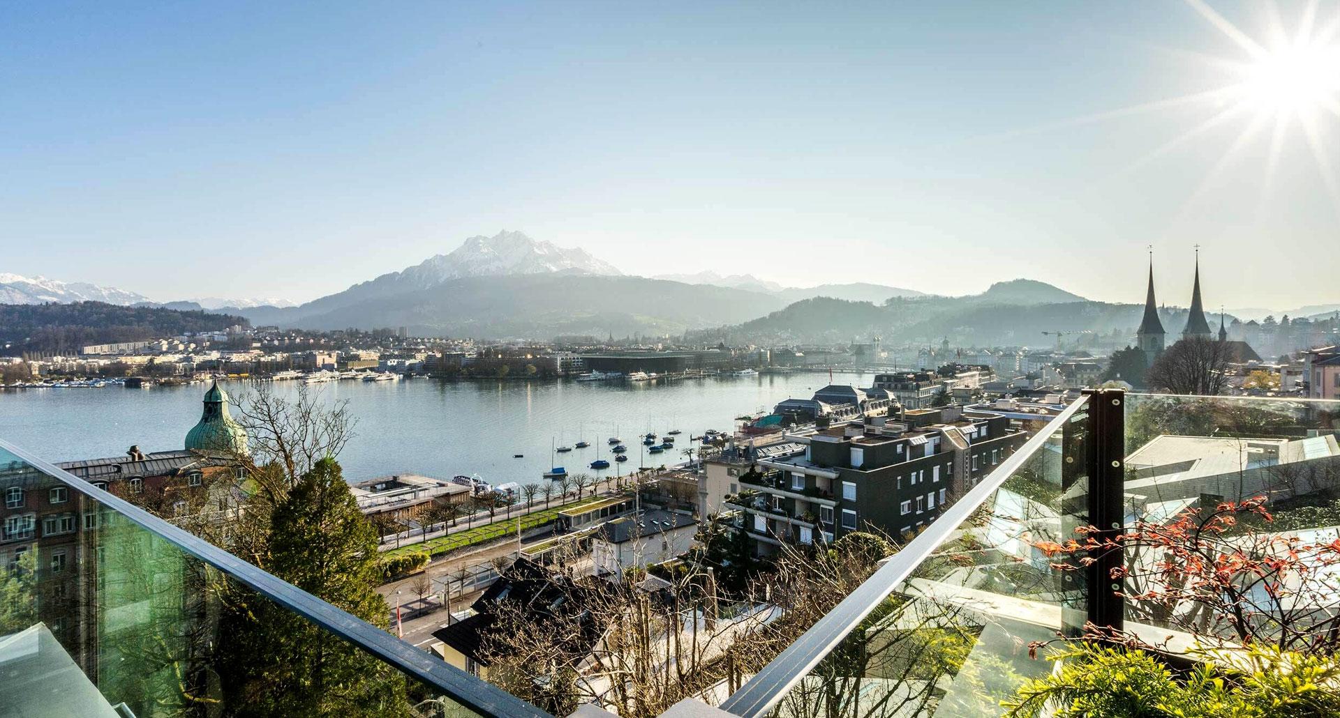 Le Lac des Quatre-Cantons & Lucerne