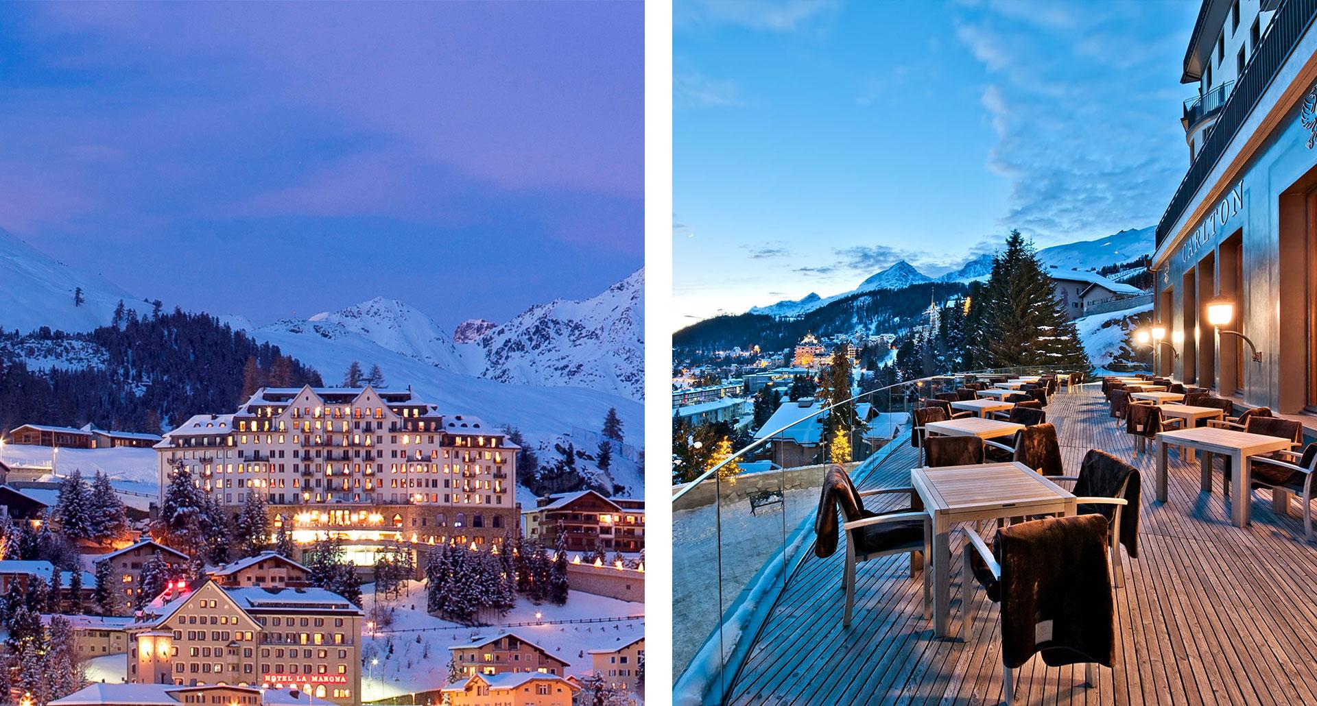 Carlton Hotel St. Moritz - boutique hotel in St Moritz