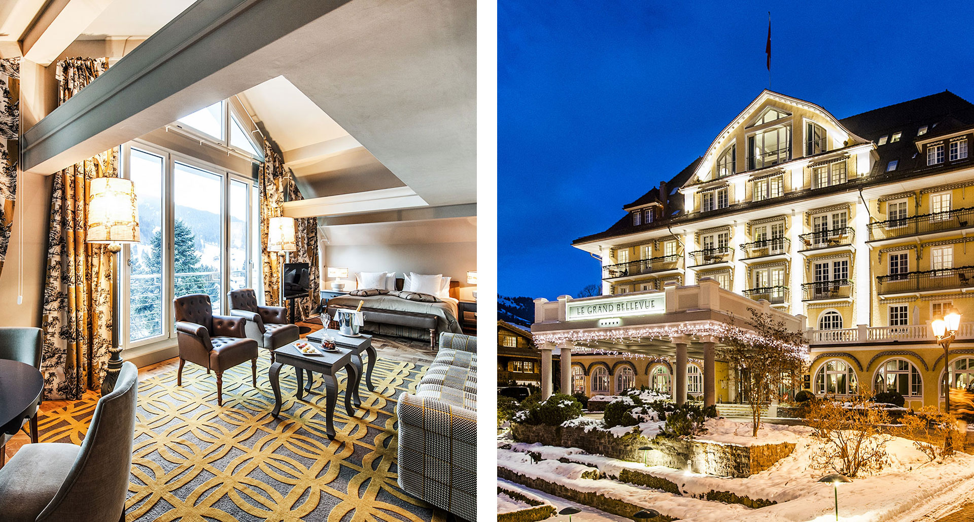 Le Grand Bellevue - boutique hotel in Gstaad