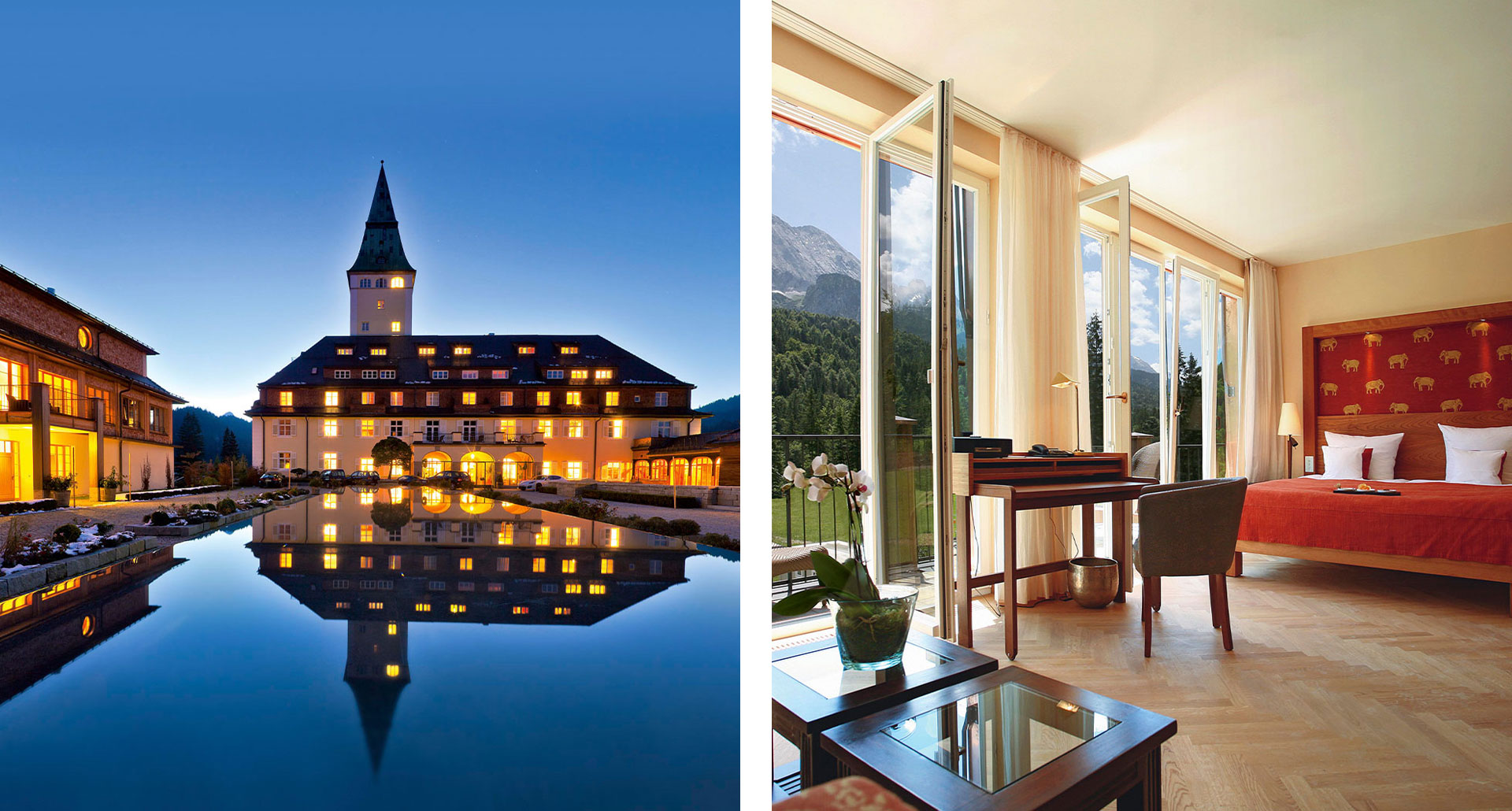 Schloss Elmau Luxury Spa - boutique hotel in Elmau
