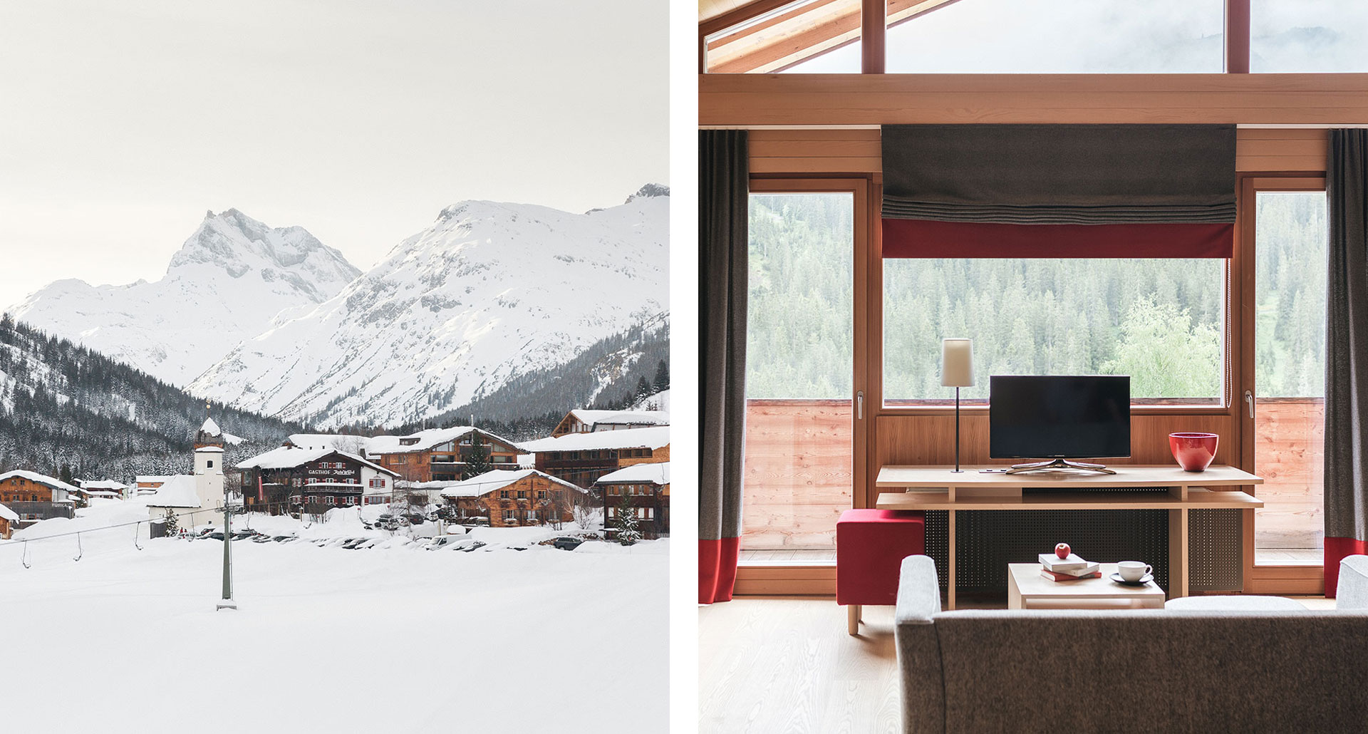 Walch's Rote Wand Gourmet Hotel - boutique hotel in Lech am Arlberg
