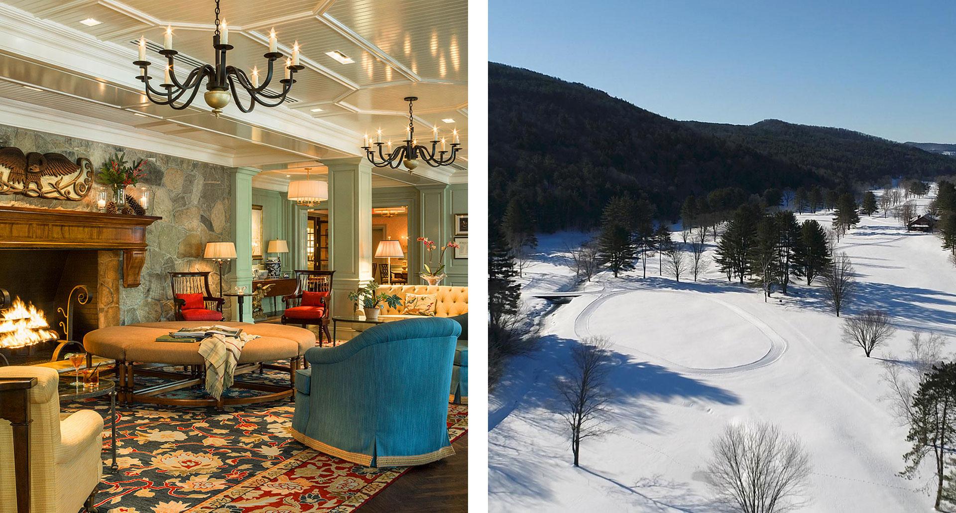 The Woodstock Inn & Resort - boutique hotel in Vermont