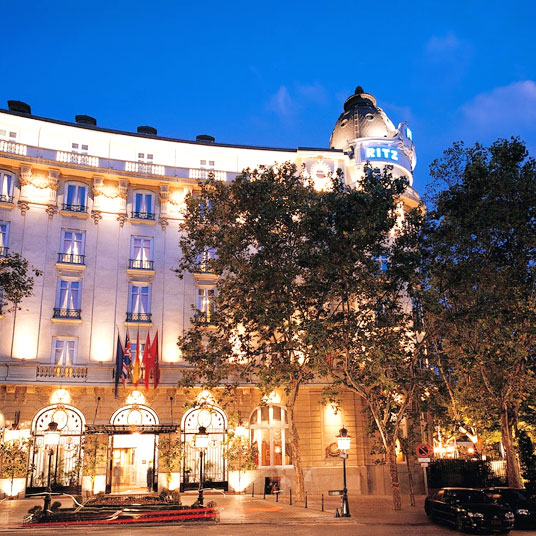 Hotel Ritz Madrid Spain 17 Hotel Reviews Tablet Hotels