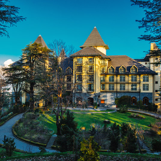Wildflower Hall, Shimla in the Himalayas