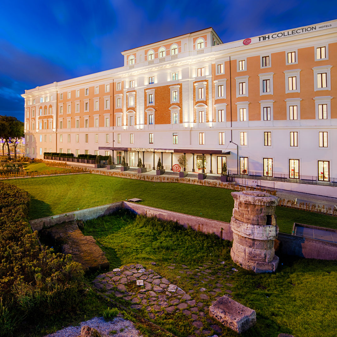 Nh collection palazzo cinquecento rome italy verified for Tablet hotel deals