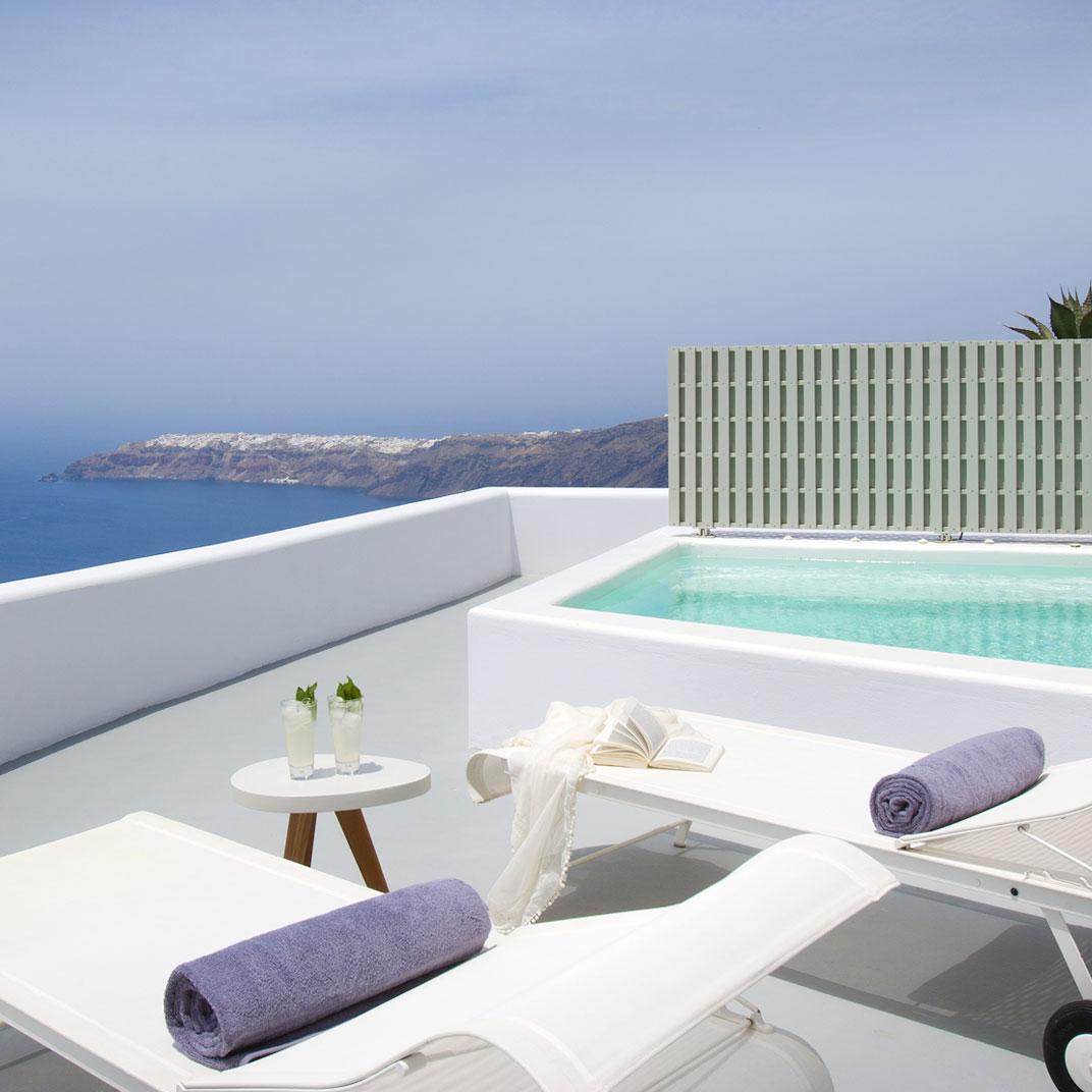 Grace santorini santorini islas griegas rese as de for Tablets hotel
