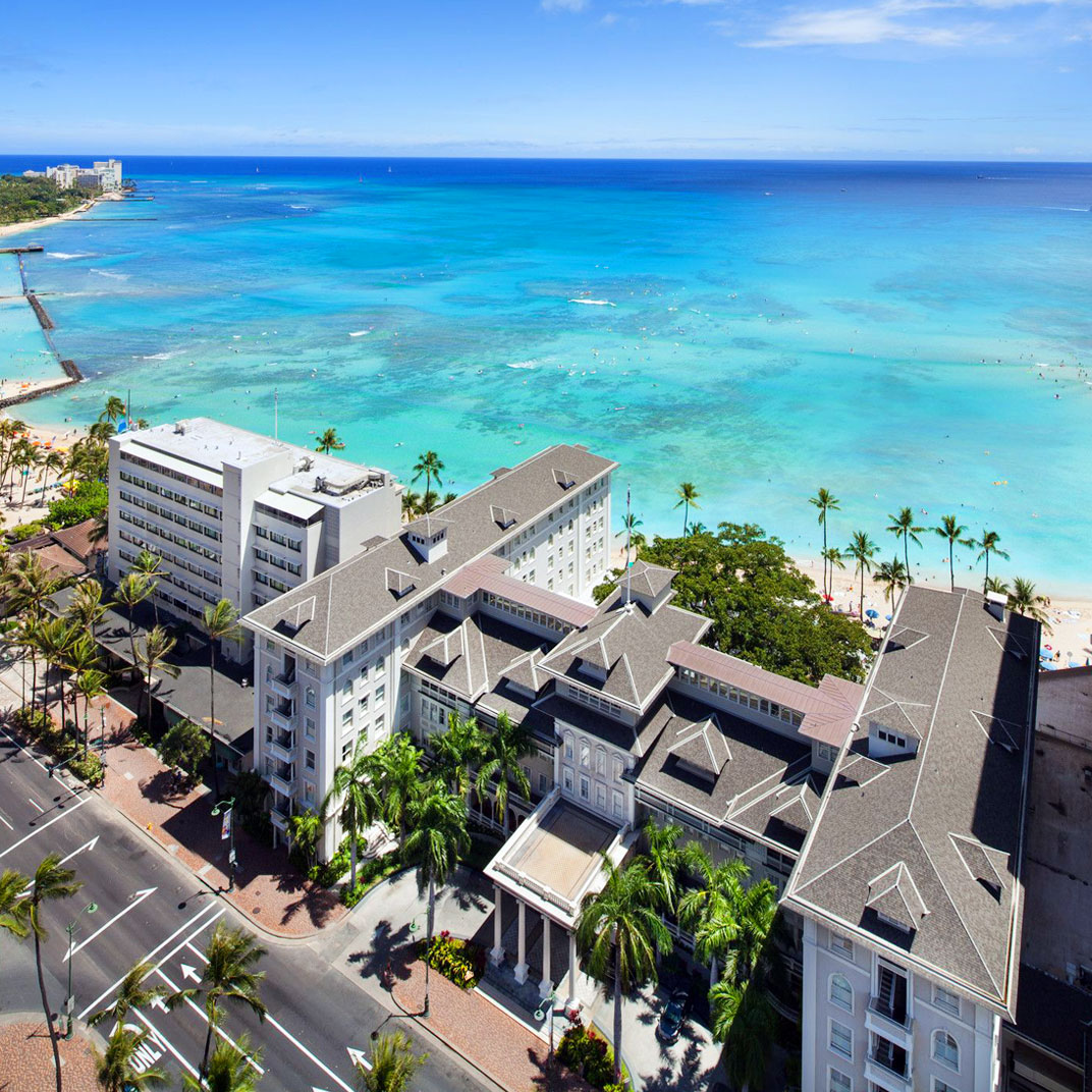 Moana Surfrider, Waikiki Beach