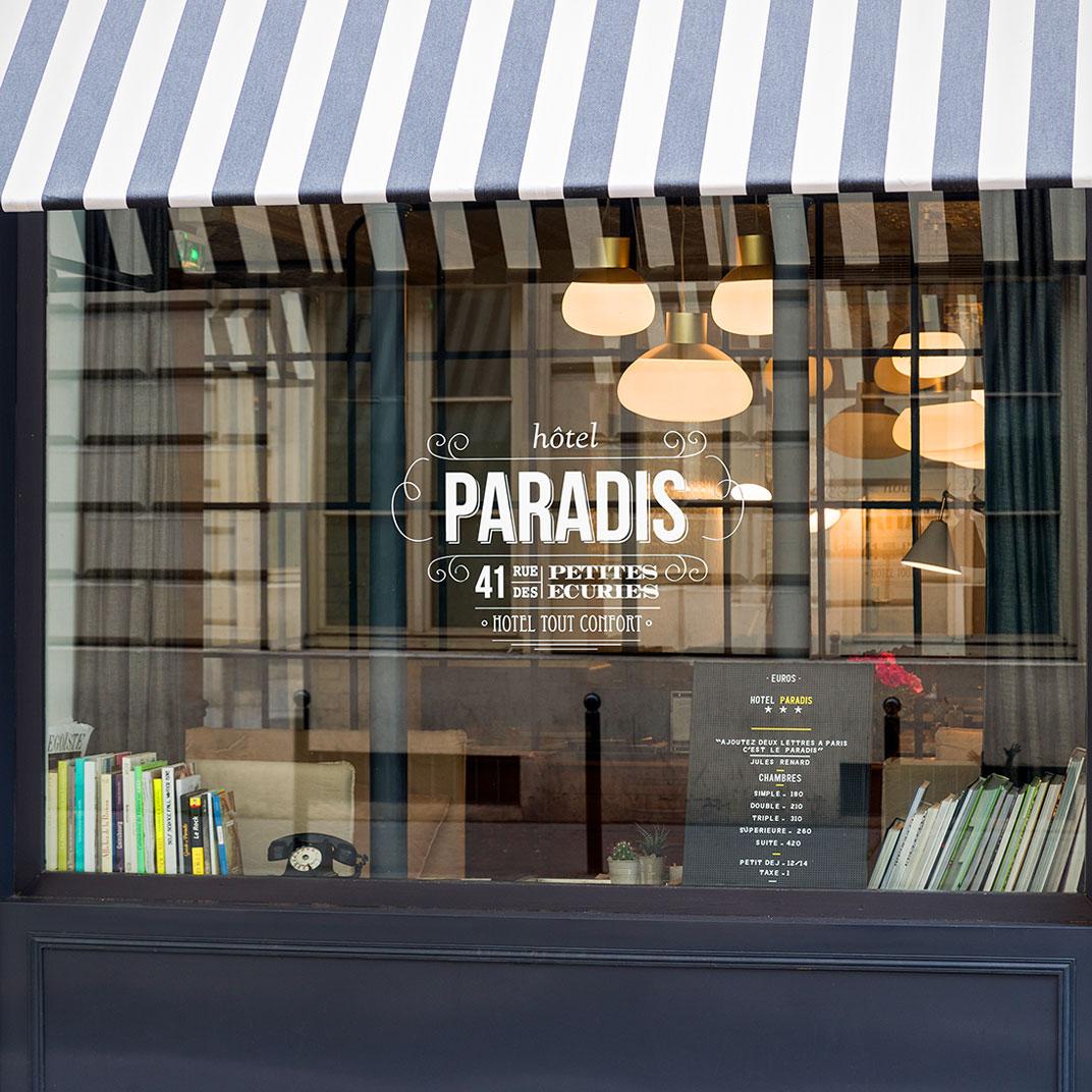 巴黎天堂酒店(Hotel Paradis Paris)
