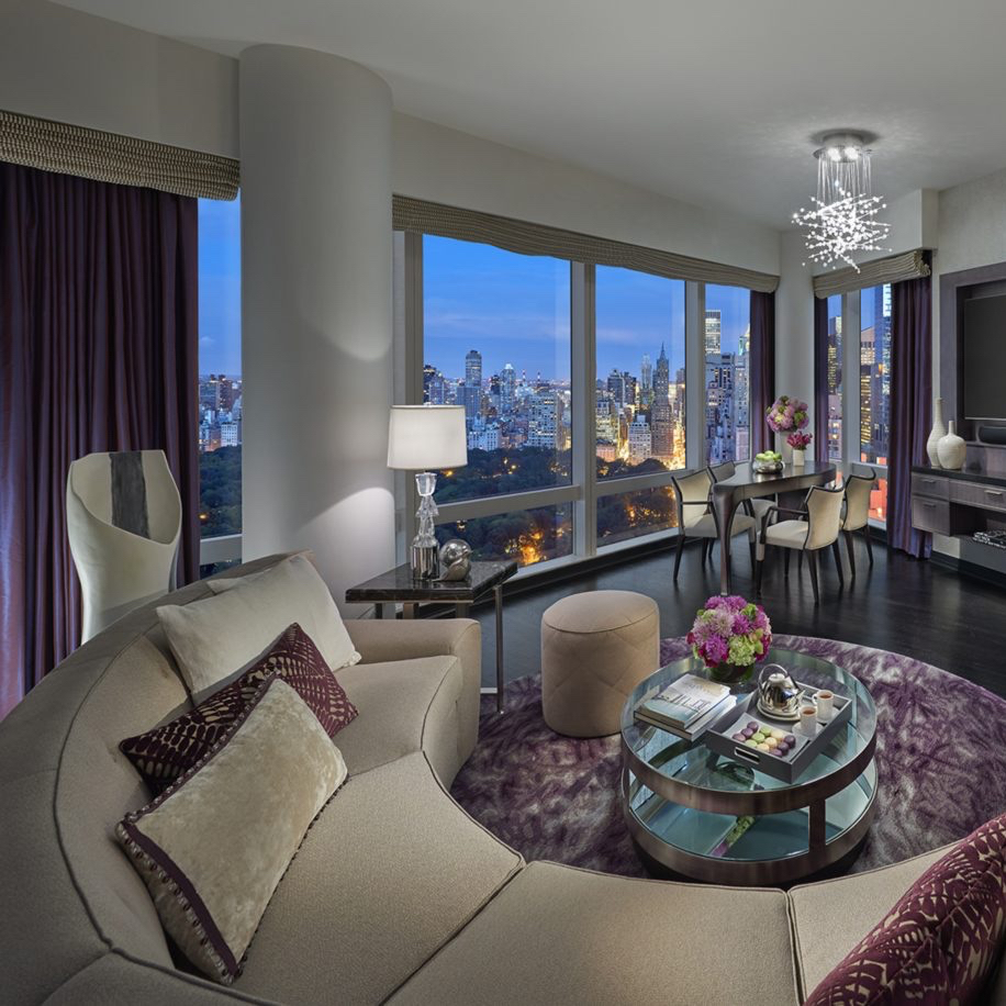 New York City Suite Hotels 2 Bedroom Mandarin Oriental New York New York City New York 11 Hotel